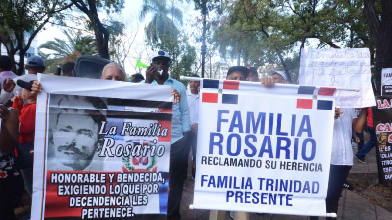La familia Rosario en reclamo de la herencia millonaria/Pedro Sosa
