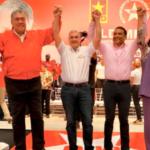 Gonzalo Castillo fue proclamado por el MIU como su candidato presidencial.