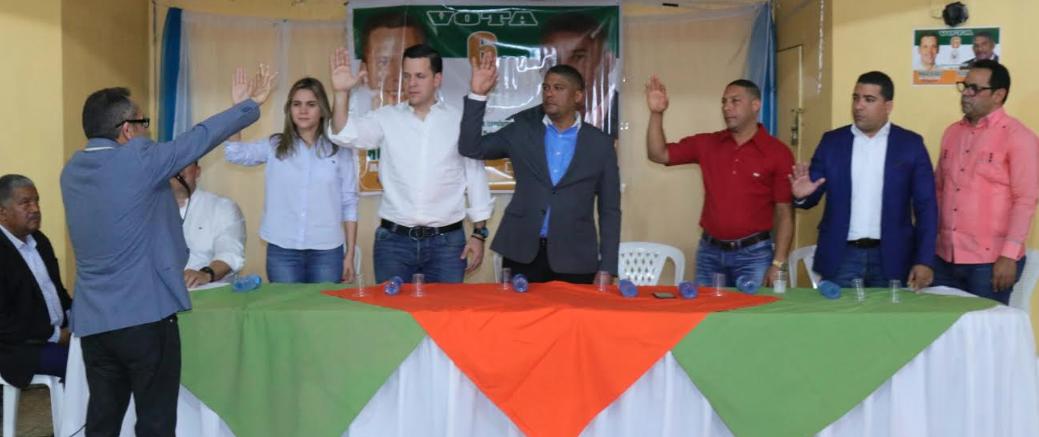 MODA y PRD proclaman a Henry Agramonte candidato a regidor