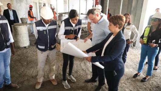 Procurador supervisa ampliación cárcel Najayo en San Cristóbal
