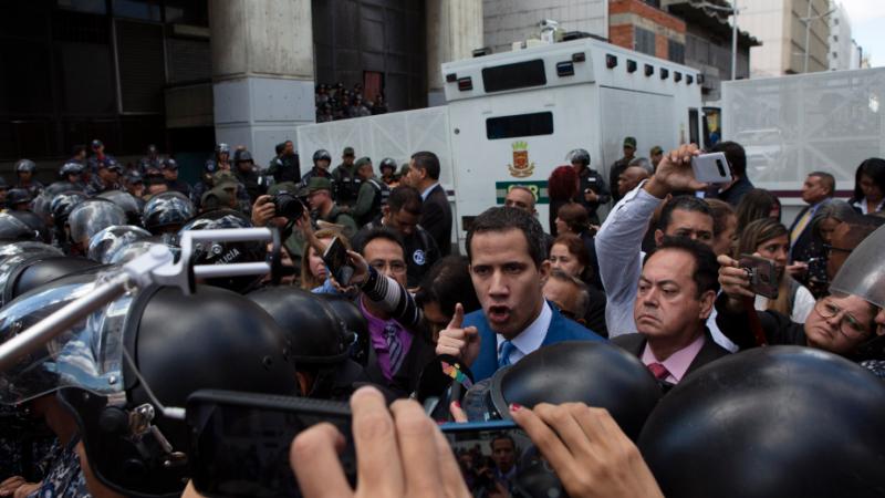 Juan Guaidó/AP