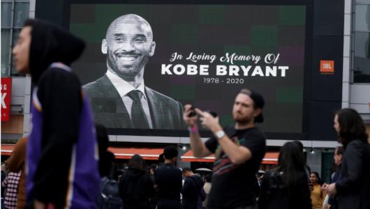 LeBron James hizo el gran homenaje a Kobe Bryant un día antes de la tragedia
