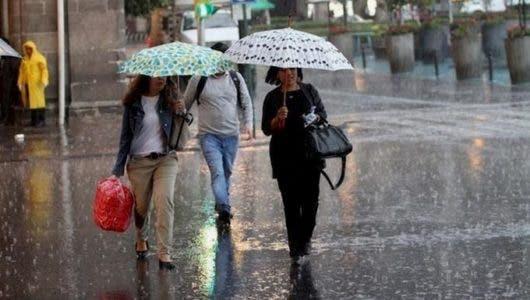 No olvides el paraguas si piensa salir porque sistema frontal estará provocando lluvias en varias provincias de RD