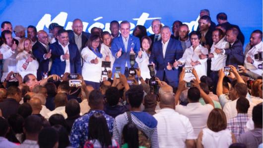 Luis Abinader: el PRM es una casa abierta para los que quieren el cambio