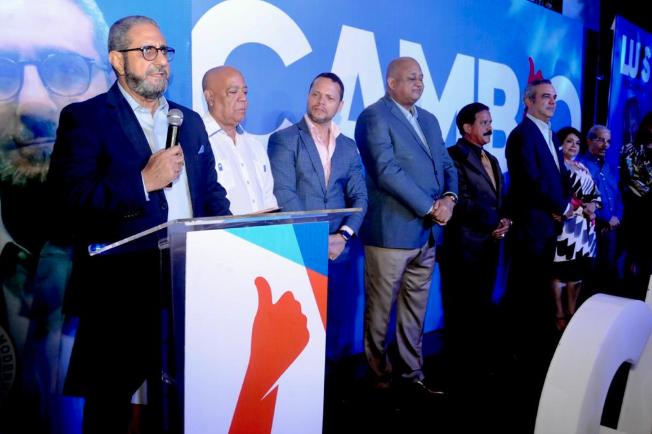 Luis Abinader asegura apoyo a propuesta de cambio se fortalece