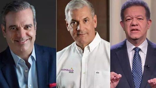 Encuesta Gallup-Hoy: Luis Abinader aventaja adversarios, pero no ganaría primera vuelta