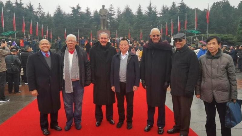 Misión visitó China