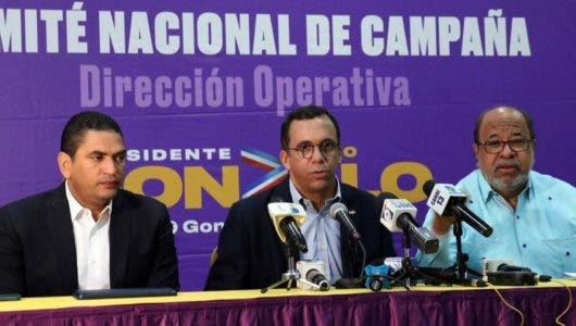 """Comando de Campaña de Gonzalo Castillo anuncia agenda de trabajo para """"arrasar"""" en elecciones"""