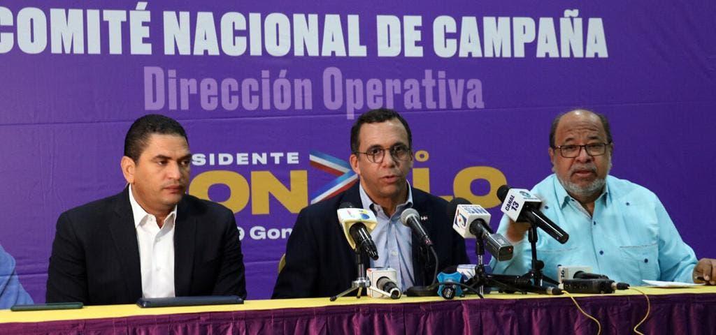 Comando de Campaña de Gonzalo Castillo anuncia agenda de trabajo para «arrasar» en elecciones