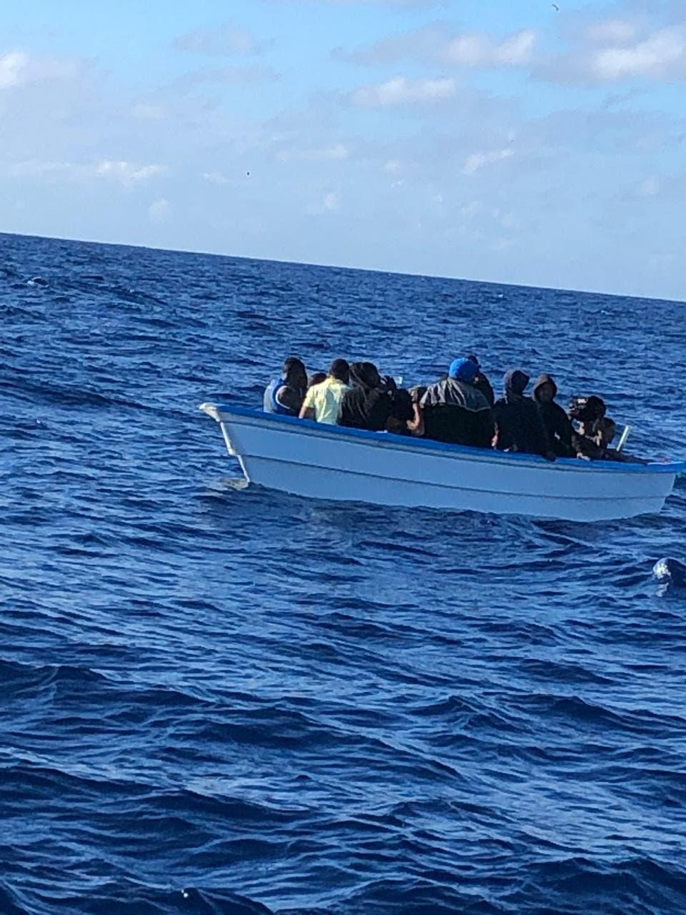 34 dominicanos pretendían llegar Puerto Rico en yola