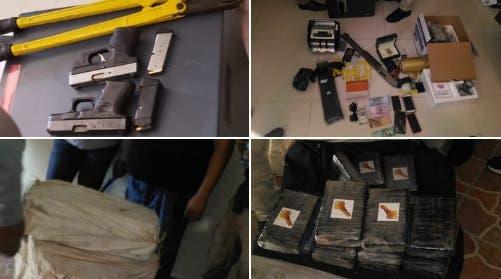 ¡Golpe contra el narcotráfico! Ocupan 355 paquetes de cocaína en Villa Mella