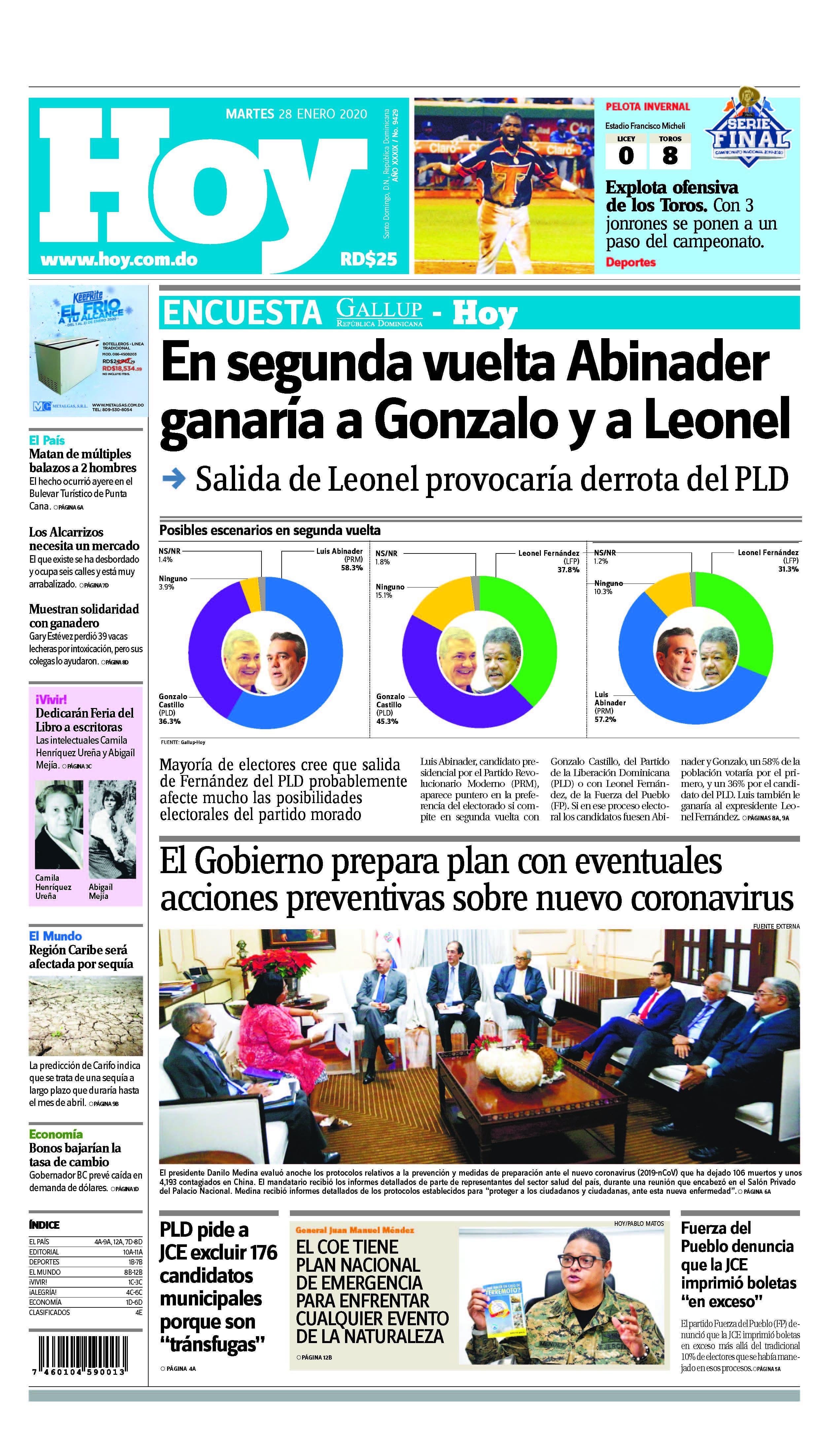 Pages from Edición impresa HOY martes 28 de enero del 2020