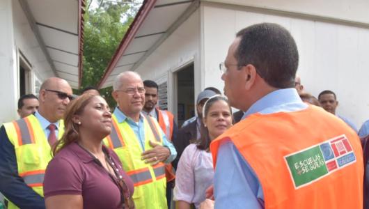Peña Mirabal encabeza cierre semana de simulacros en centros educativos