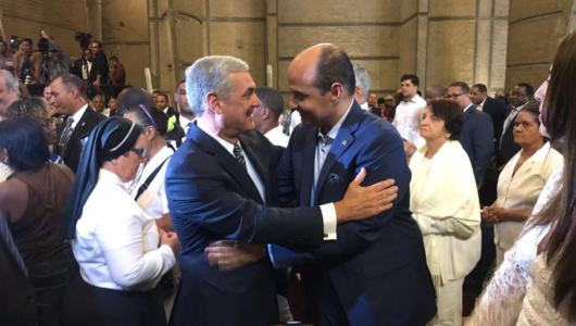 Ramfis hace llamado a diálogo nacional a Danilo, Abinader y Gonzalo durante misa de La Altagracia