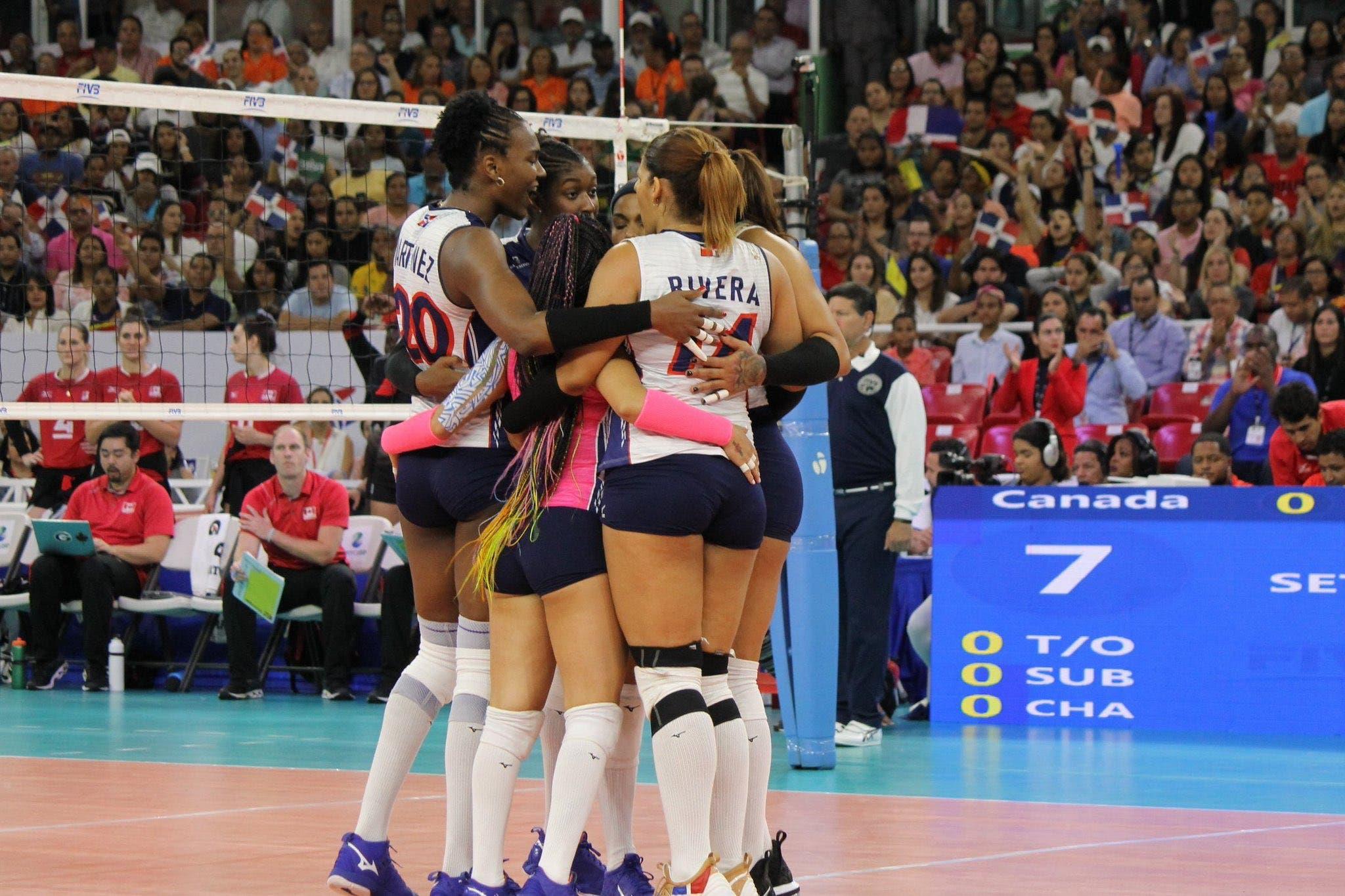 Las Reinas del Caribe pulverizan a Canadá y disputarán el boleto a Tokio con Puerto Rico
