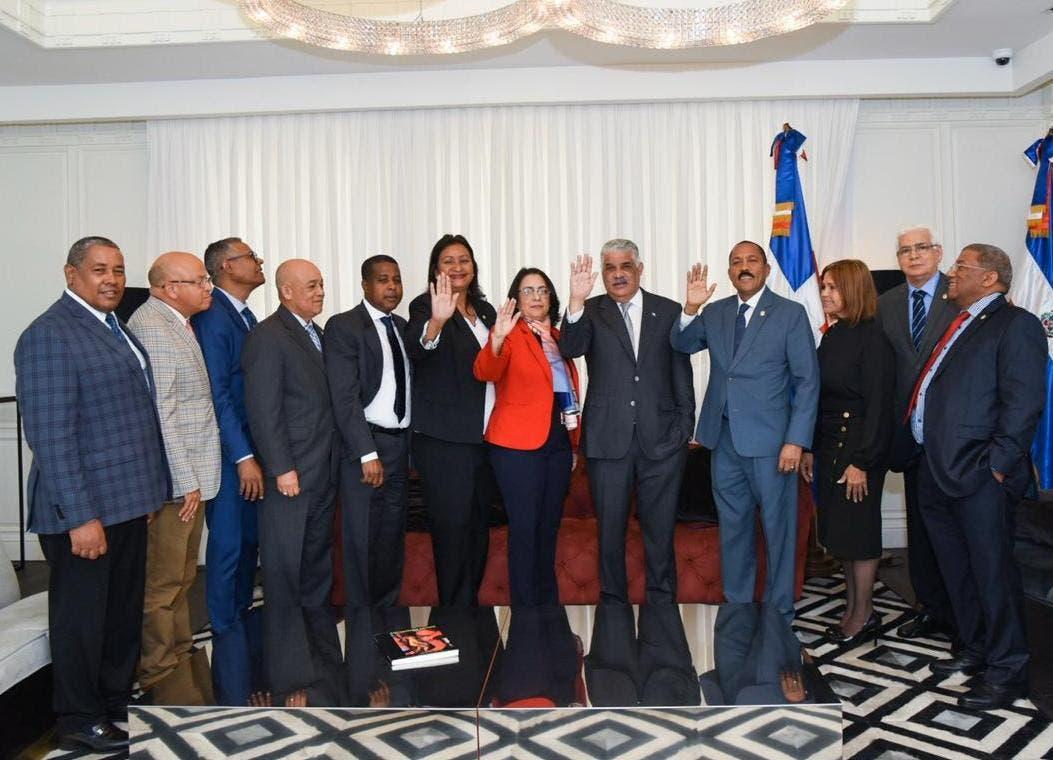 Miguel Vargas juramenta nuevo vocero del PRD en la Cámara de Diputados
