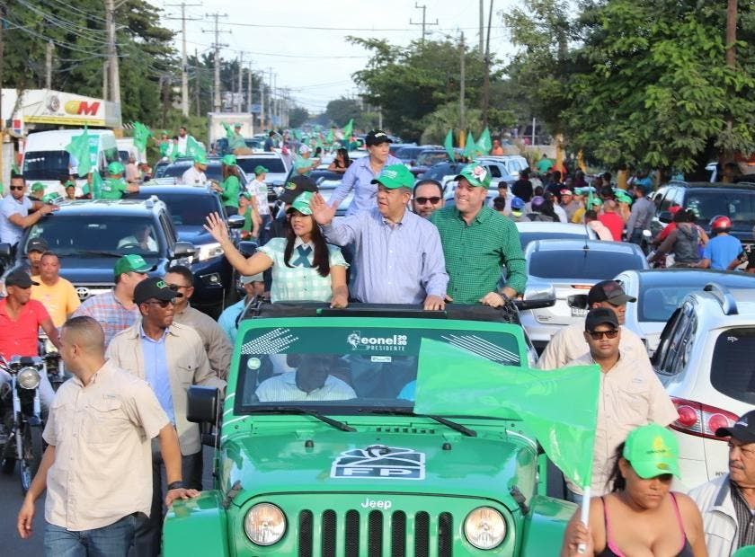 Leonel Fernández realizó recorrido en La Vega: ¿Cómo fue el trato para el aspirante presidencial y los candidatos municipales de la Fuerza del Pueblo?