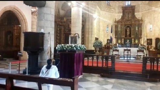 Video: Veneran a la Virgen de la Altagracia en la Capital, sin irse a Higüey