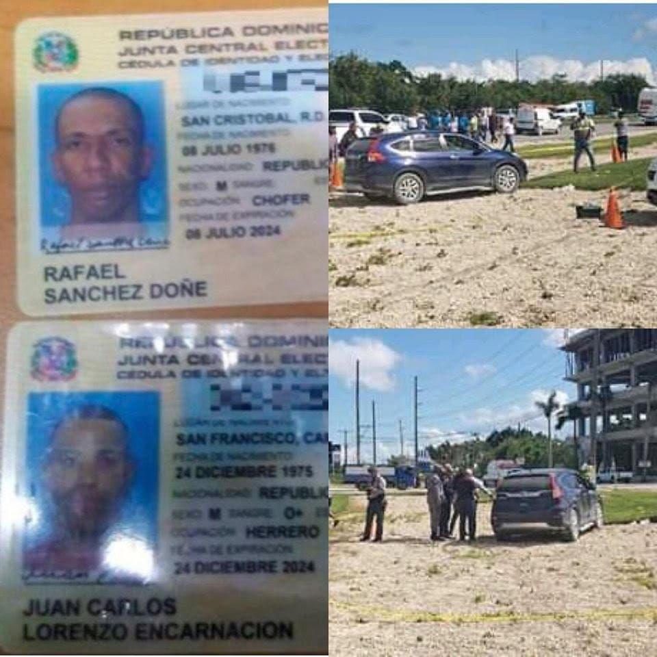 Nuevos detalles sobre hombres muertos a tiros dentro yipeta en Punta Cana