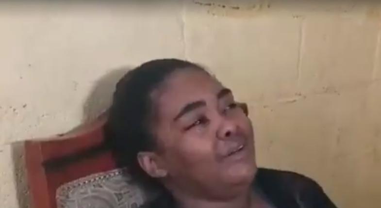 «Ay yo oigo que me llama y me grita mami», dice madre de Yanesy sumergida en sufrimiento