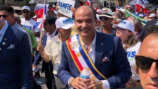 Ramfis dice la diáspora dominicana tiene el poder de cambio en sus manos