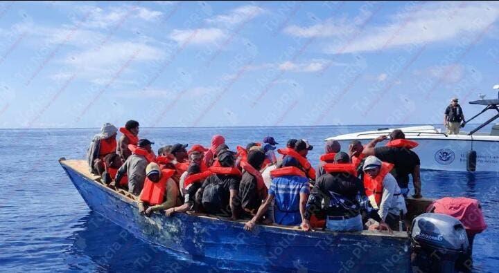 Armada Dominicana frustra viajes ilegales durante operativos