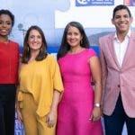 Clauvid Daly, Virginia Saiz, Natalia Ureña y Gregorio Tapia
