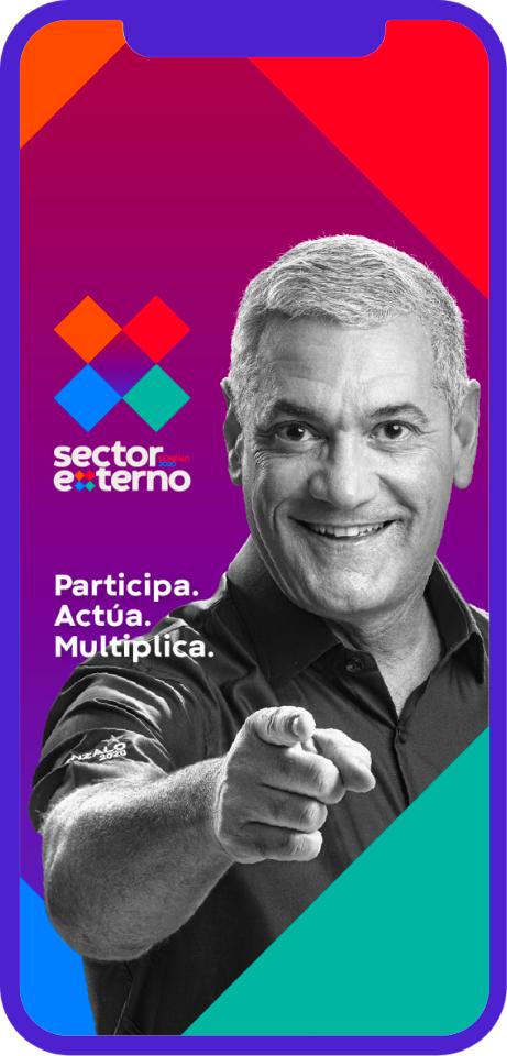 Sector Externo con Gonzalo lanza a App Móvil SEG2020