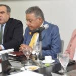 El pais.Almuerzo del Grupo de Comunicaciones Corripio, con el señor Celso Juan Marranzini Presidente de la Asociación de Industrias de la república Dominicana (AIRD), señora Circe Almánzar vice presidenta de la Asociación de Industrias de la República Dominicana (AIRD), señor Juan Amell presidente de la Asociación de Industrias de Bebidas no Alcohólicas (ASIBENAS), señora María Alicia Urbaneja Directora Ejecutiva de (ECORED) y la señora Marielly Ponciano Coordinadora de Proyecto de Economía Circular. Hoy/ Pablo Matos 26/02/2020