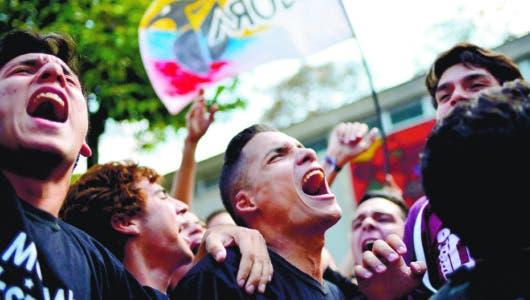 Estudiantes repudian las nuevas normas universidades Venezuela