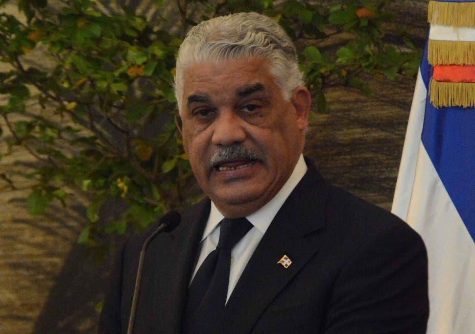 Miguel Vargas defiende extensión período de emergencia