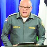 Rueda de prensa policia nacional por  Caso delito Electoral  /hoy/ Frank Feliz Duran/19-02-2020. Ana Marmol
