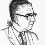 Caricatura de Ángel Severo