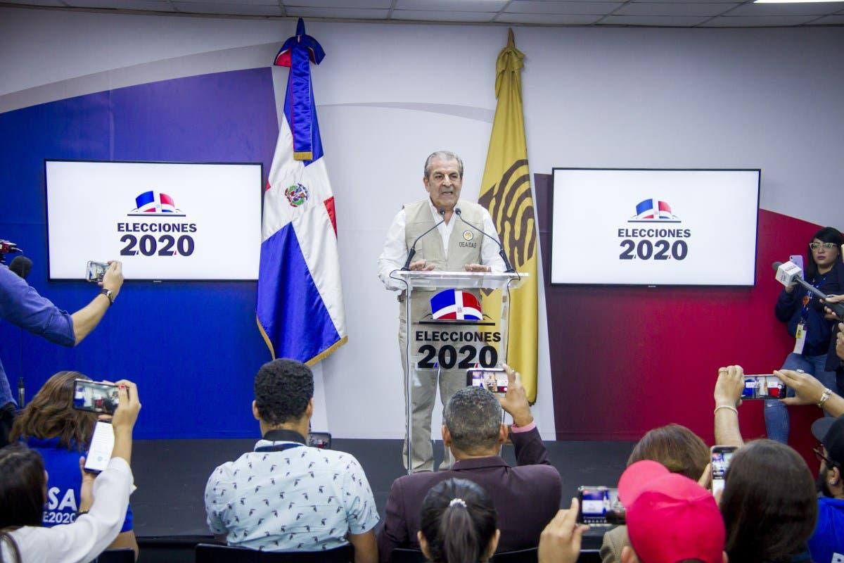 Misión de Observación Electoral de OEA ofrece declaraciones sobre suspensión Elecciones Municipales