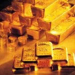 economia. lingote de oro. gold