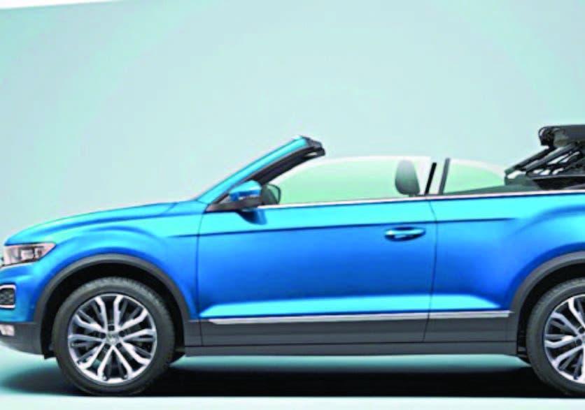 Volkswagen T-Roc Cabriolet: Un SUV descubierto