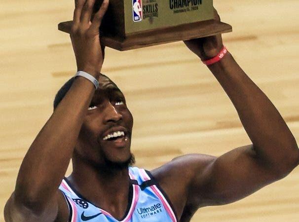Adebayo, del Heat, gana concurso de habilidades de NBA