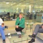 Entrevista en la redaccion del periodico a Maria Luisa Montas /Hoy/11-02-2020/Ana Marmol.