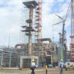 Recorrido por la Refineria Dominicana de  petroleo en Haina. Foto: Elieser Tapia.
