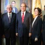 El Pleno de la Junta Central Electoral (JCE), encabezado por su Presidente, Magistrado Julio César Castaños Guzmán. Fuente Externa