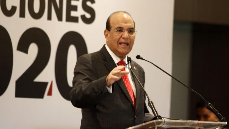 Julio César Castaños Guzmán, presidente de la JCE. FOTO: Duany Nuñez