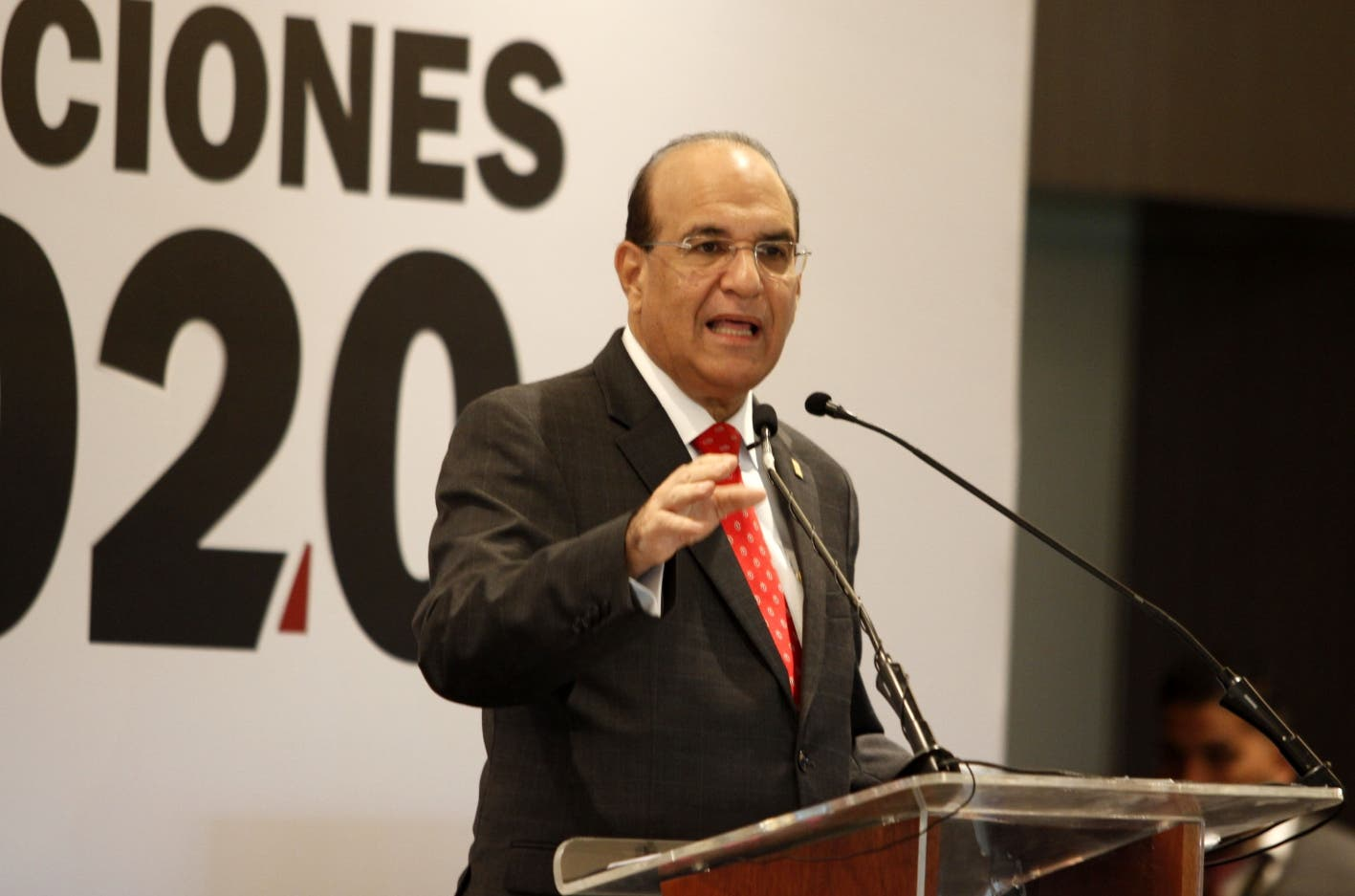 Julio César Castaños Guzmán, presidente de la JCE. duany nuñez
