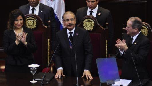 Medina  pronuncia último discurso rendición cuentas