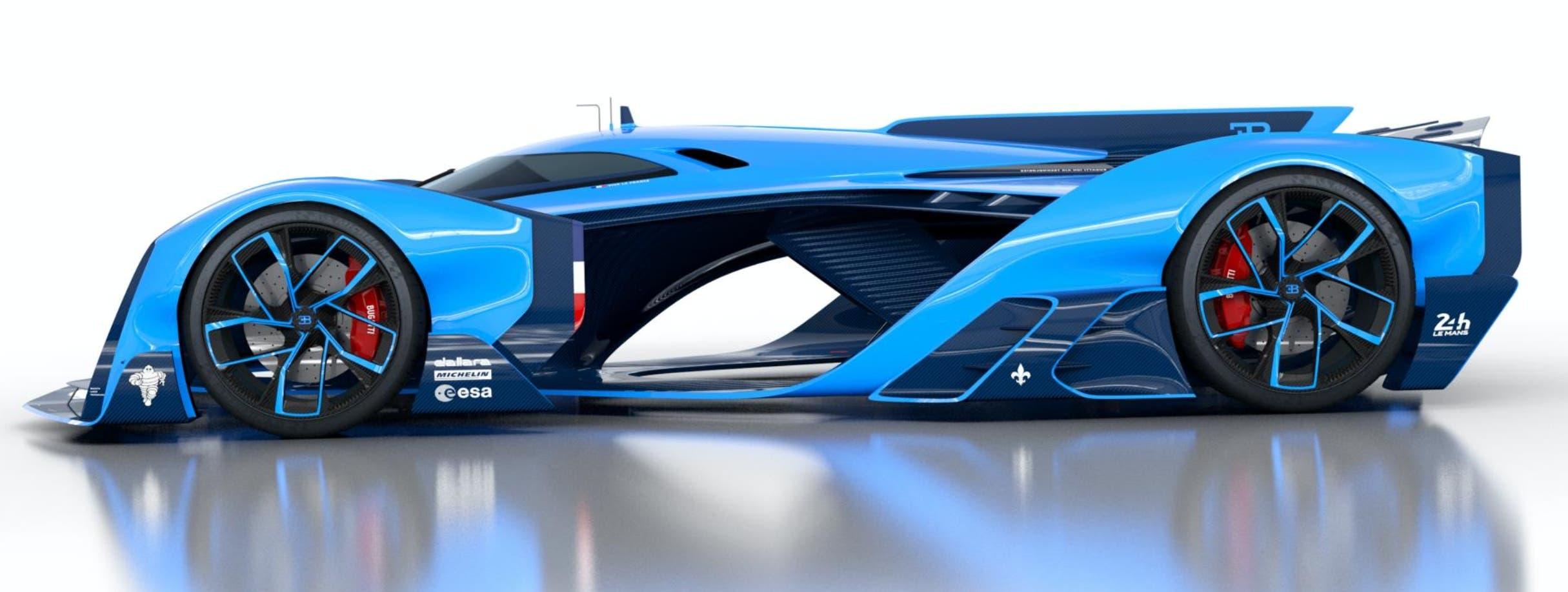 BUGATTI VISION LE MANS:  Soñando Le Mans