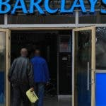 Nairobi (Kenya).- (FILE) - People enter into a Barclays bank branch located at the entrance of one of the international arrivals terminals at the Jomo Kenyatta International Airport (JKIA) in Nairobi, Kenya, 06 March 2019 (reissued 13 February 2020). Barclays on 13 February 2020 released their full year 2019 results, saying the Barclay Group's total 2019 income was 21,632 million pound, net operating income was 19,720 million pound and profit after tax stood at 3,354 million pound. (Kenia) EFE/EPA/DANIEL IRUNGU *** Local Caption *** 55036163
