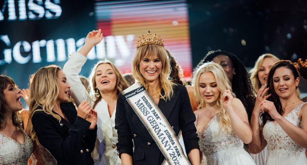Treinta y cinco años, madre y empresaria: así es la nueva Miss Alemania