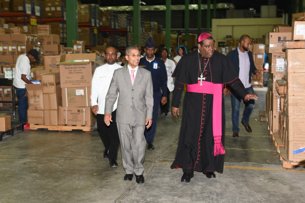 Obispo resalta labor de Promese/Cal en favor de los más necesitados