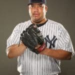 TAMPA, FL - FEBRUARY 23: Bartolo Colon #40 of the New York Yankees poses for a portrait on Photo Day at George M. Steinbrenner Field on February 23, 2011 in Tampa, Florida.   Al Bello/Getty Images/AFP== FOR NEWSPAPERS, INTERNET, TELCOS & TELEVISION USE ONLY ==