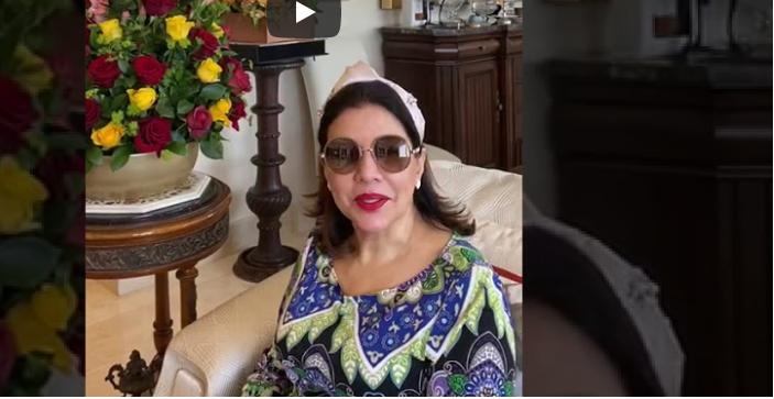 Este es el mensaje de Margarita Cedeño tras ser dada de alta