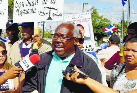 Jose Miguel Jimenez Valdez, hermano profesor quemado en San Juan.  Hoy/Fuente Externa 13/2/20